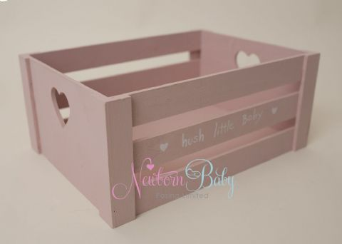 Small Pink Crate ~ 2 sizes